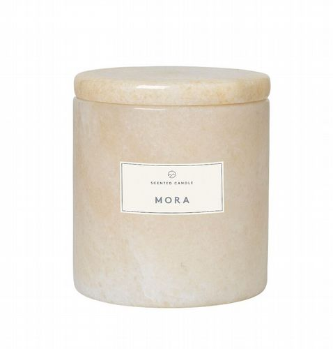 Blomus - Marble Candle With Lid - Mora